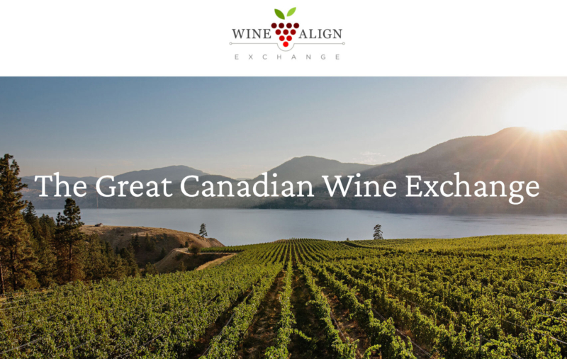 Wine align great canadian wine exchange promo